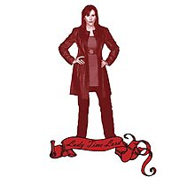 Lady Time Lord (Donna) Photographic Print