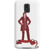 Lady Time Lord (Donna) Samsung Galaxy Case/Skin