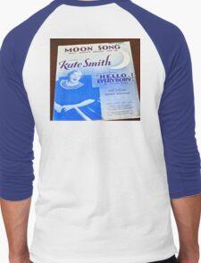 GOD BLESS AMERICA KATE SMITH Men's Baseball ¾ T-Shirt