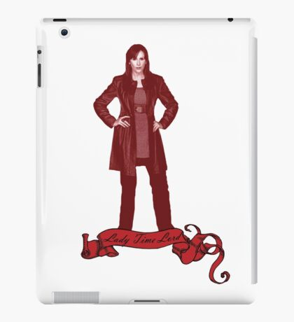 Lady Time Lord (Donna) iPad Case/Skin