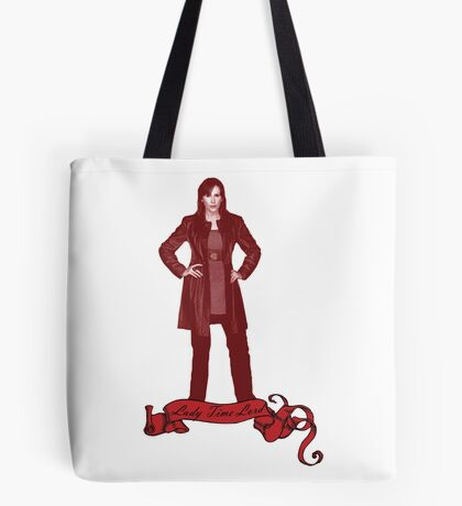 Lady Time Lord (Donna) Tote Bag