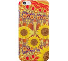 Patterns and Sunflowers iPhone Case/Skin