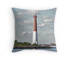 Barnegat Lighthouse - Barnegat NJ Throw Pillow