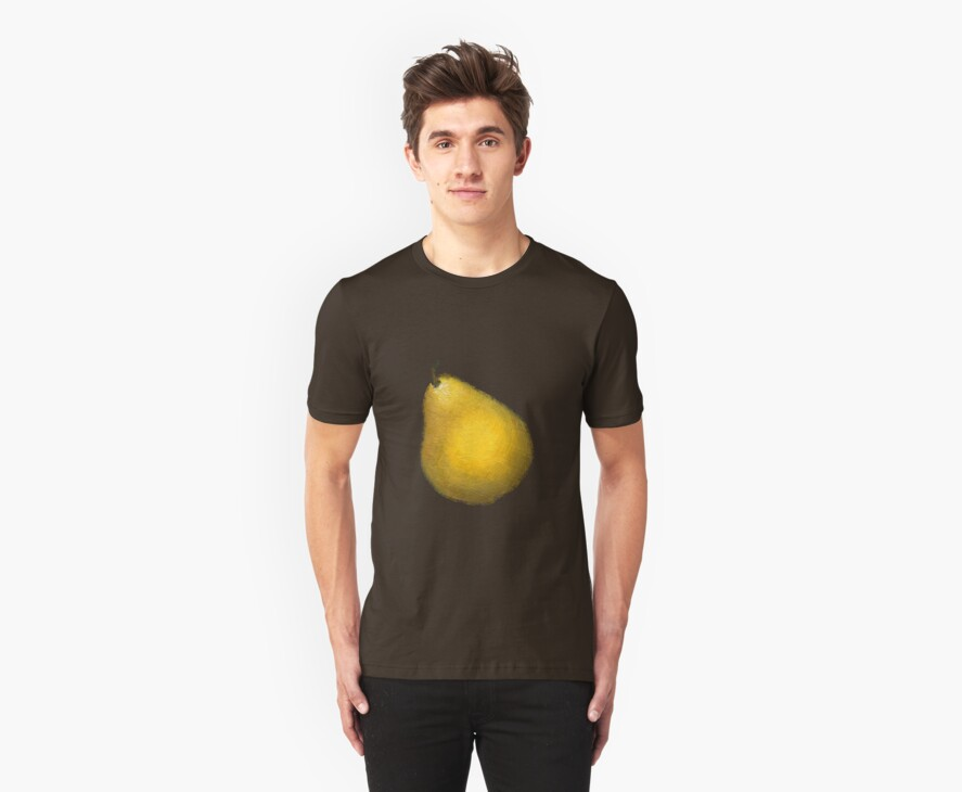 yellow pear by VioDeSign