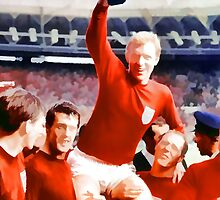 England win the world cup in 1966 by akennydesign