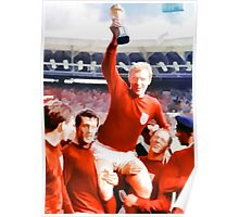 England win the world cup in 1966 Poster