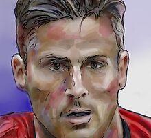 Olivier Giroud by ArsenalArtz