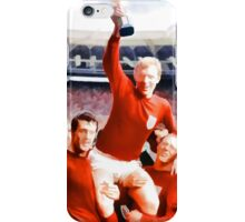England win the world cup in 1966 iPhone Case/Skin