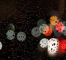 Glass, Rain and Traffic by Keith Vander Wees