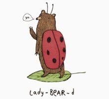 Lady-BEAR-d Baby Tee
