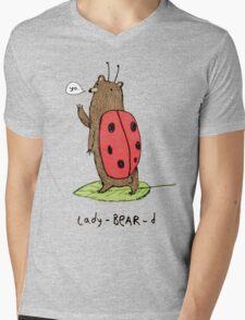 Lady-BEAR-d Mens V-Neck T-Shirt