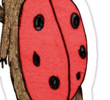 Lady-BEAR-d Sticker