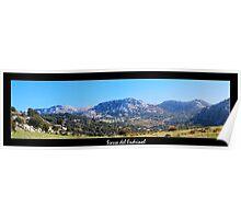 Sierra del Endrinal - panoramic Poster