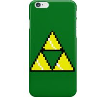 8 Bit Triforce pixel iPhone Case/Skin