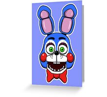 Five Nights at Freddy's Toy Bonnie  Greeting Card
