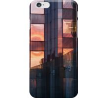 Downtown Sunset On Building, Toronto iPhone Case/Skin