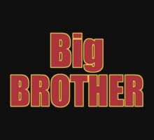 Big Brother Kids Clothing - T-Shirt One Piece - Short Sleeve