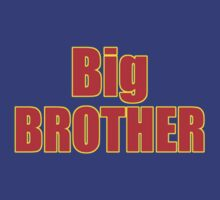 Big Brother Kids Clothing - T-Shirt by deanworld