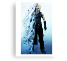 Final Fantasy VII - Sephiroth and Cloud Canvas Print