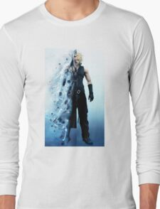 Final Fantasy VII - Sephiroth and Cloud Long Sleeve T-Shirt