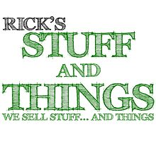 Rick's Stuff and Things  by GreenGamer