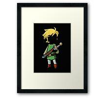 Link, the Legend of Zelda T-shirt Framed Print