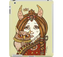 Owl Whisper iPad Case/Skin
