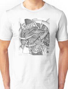 Dense forest of Siberia. Unisex T-Shirt