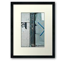 Changing Neighborhood Framed Print