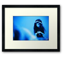 Blunderblue Doll Framed Print