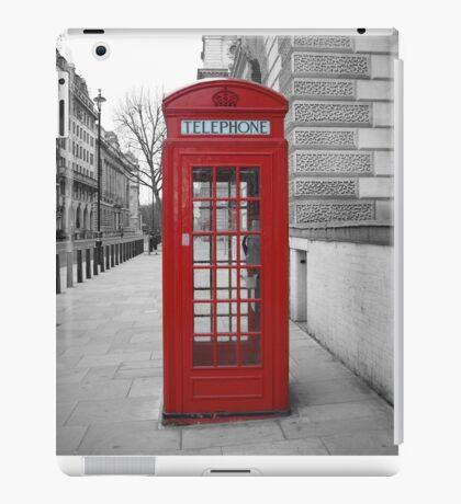 London Telephone Box iPad Case/Skin