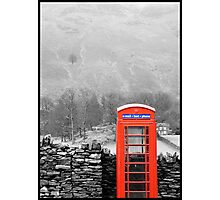 Colourful Call Photographic Print