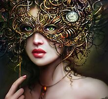 The Girl With Emerald Eyes  by Creations of the Insane