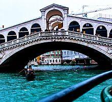 Rialto Bridge Venice December 2014 by Selena Chaplin