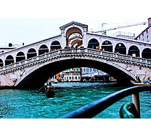 Rialto Bridge Venice December 2014 Photographic Print