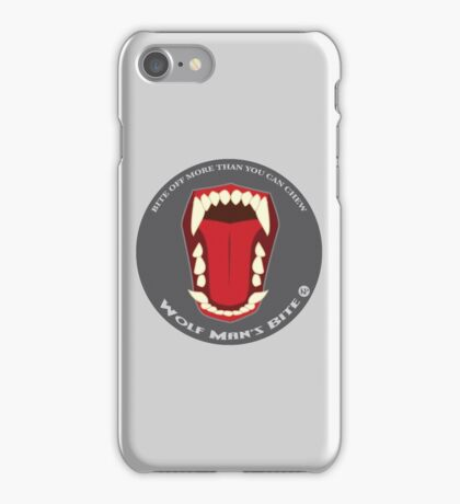 The Bite: Wolfman iPhone Case/Skin