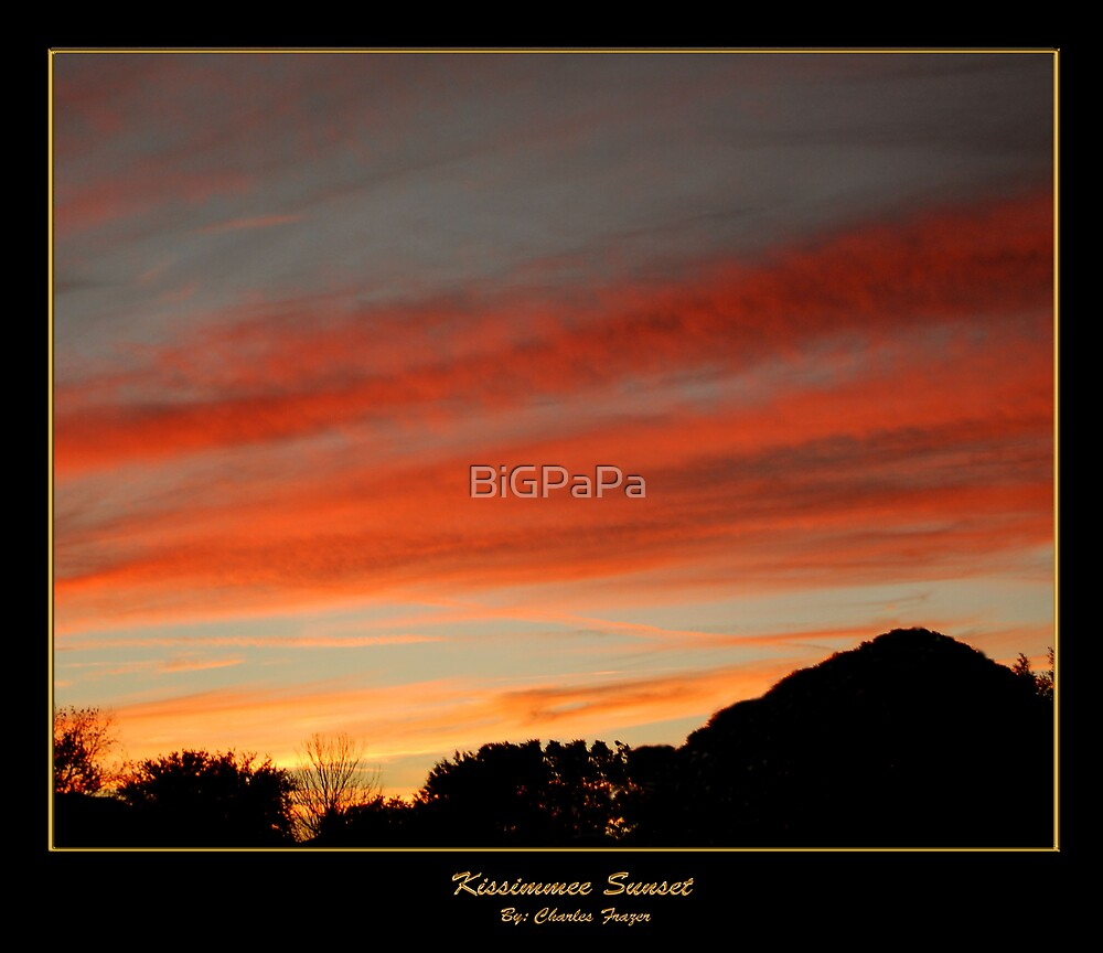 Kissimmee Sunset by BiGPaPa