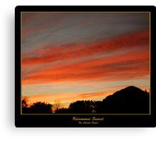 Kissimmee Sunset Canvas Print