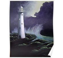 The Lighthouse-Painting Poster