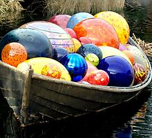 Skiff Ornaments by phil decocco