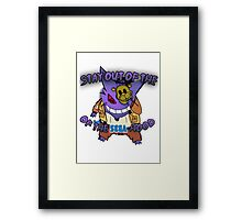 """""""Stay Out of the Sega Hood"""" Official T-Shirt  Framed Print"""