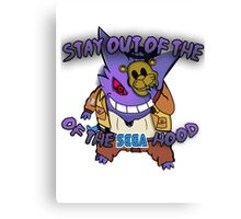 """Stay Out of the Sega Hood"" Official T-Shirt  Canvas Print"