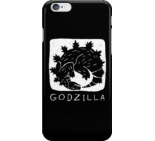 Godzilla is Cyclical iPhone Case/Skin