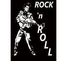 ROCK 'n' ROLL T-SHIRT Photographic Print