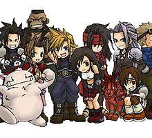 Final Fantasy Art by Solbessx