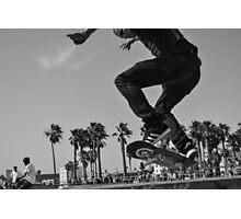 Skatboarding Photographic Print