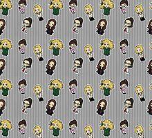 Orphan Black Clone Club by dexlarprice