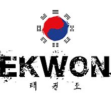 Taekwondo Text and Lettering by DCornel