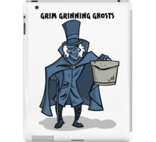 Grim Grinning Ghosts iPad Case/Skin