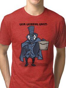 Grim Grinning Ghosts Tri-blend T-Shirt
